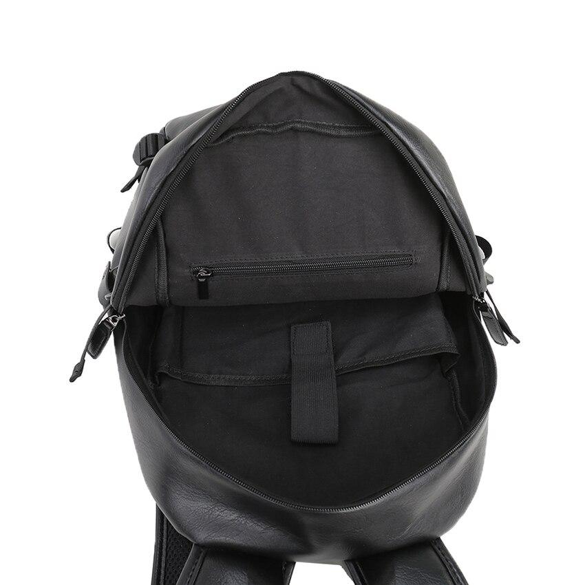 4ddcbb77ef25 ... Фото 5 2019 VORMOR бренд водостойкий 15,6 дюймов ноутбук рюкзак мужские  кожаные рюкзаки для