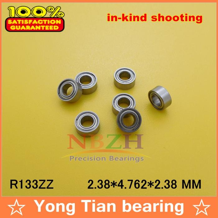 "10PCS SR133ZZ Stainless Steel Ball Bearing Bearings R133 3//32/"" x 3//16/"" x 3//32/"""