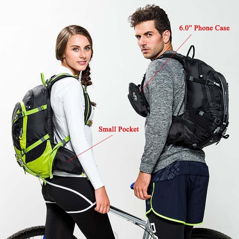 ANMEILU 20L deportes bolsa de Nylon resistente al agua Camping escalada bolsa Mochila de viaje al aire libre senderismo ciclismo Mochila cubierta de lluvia Mochila - 4