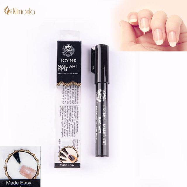 French Nail Art Pens White Art Pen Manicure Nails Art Tools DIY ...