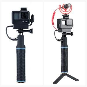Image 2 - ハンドグリップバッテリー移動プロヒーロー 7 6 5 5200 5600mah バッテリー充電器パワー銀行グリップハンドヘルド一脚 Selfie スティックアクションカメラ用