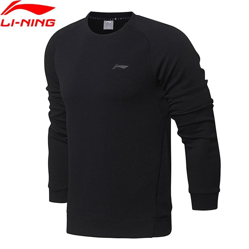 Hemden Li-ning Männer Training Wesentliche Po Knit Top Pullover Regelmäßige Fit Komfort Verriegelung Futter Sport Pullover Awdn001 Mww1380 Dauerhafte Modellierung