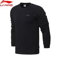 Li Ning Men Training Essentials PO Knit Top Sweaters Regular Fit Comfort Interlock LiNing Sports Sweater AWDN001 MWW1380