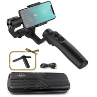 MOZA MINI MI 3 Axis Gimbal Stabilizer for Smartphone iPhone X 8 7 6 Plus Samsung S9/S9+ S8 Wireless Phone Charge Inception Mode