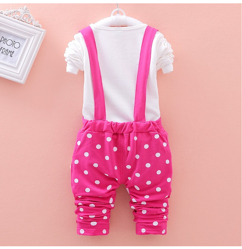 CNJiaYun Minnie Baby Girls Klädsetor Vår Bomull Barnsängar - Barnkläder - Foto 2