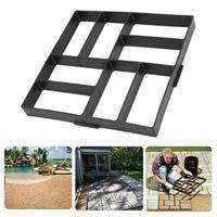 40 40cm Stone Mold Driveway Rectangle Paving Pavement Garden DIY Concrete Stepping Pathmate Cement Brick Mould