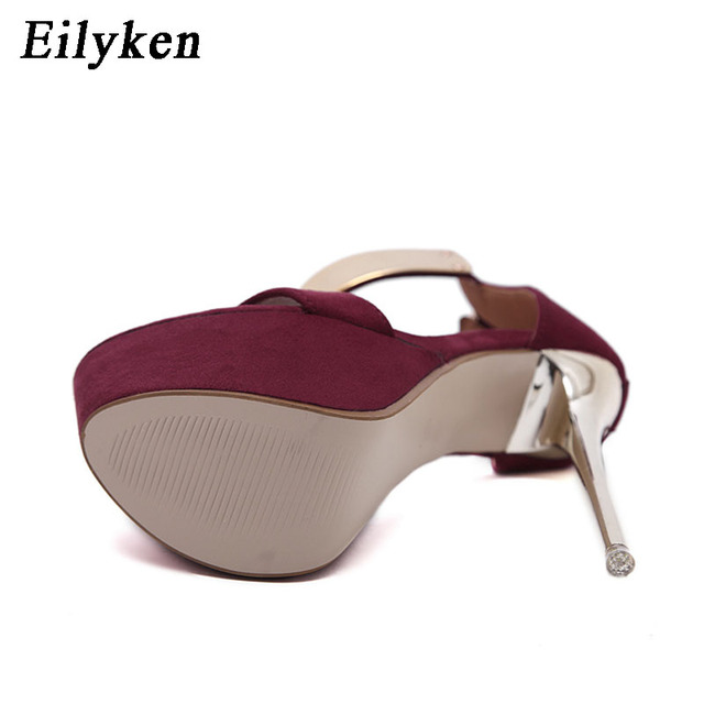 Ankle Strap heels Platform Sandals Party shoes For Women Wedding Sandals Women Pumps 3