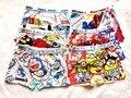 Meninos underwear 6 pçs/lote boxers algodão underwear bebê menino dos desenhos animados das crianças calcinhas boxer shorts roupas xy-002