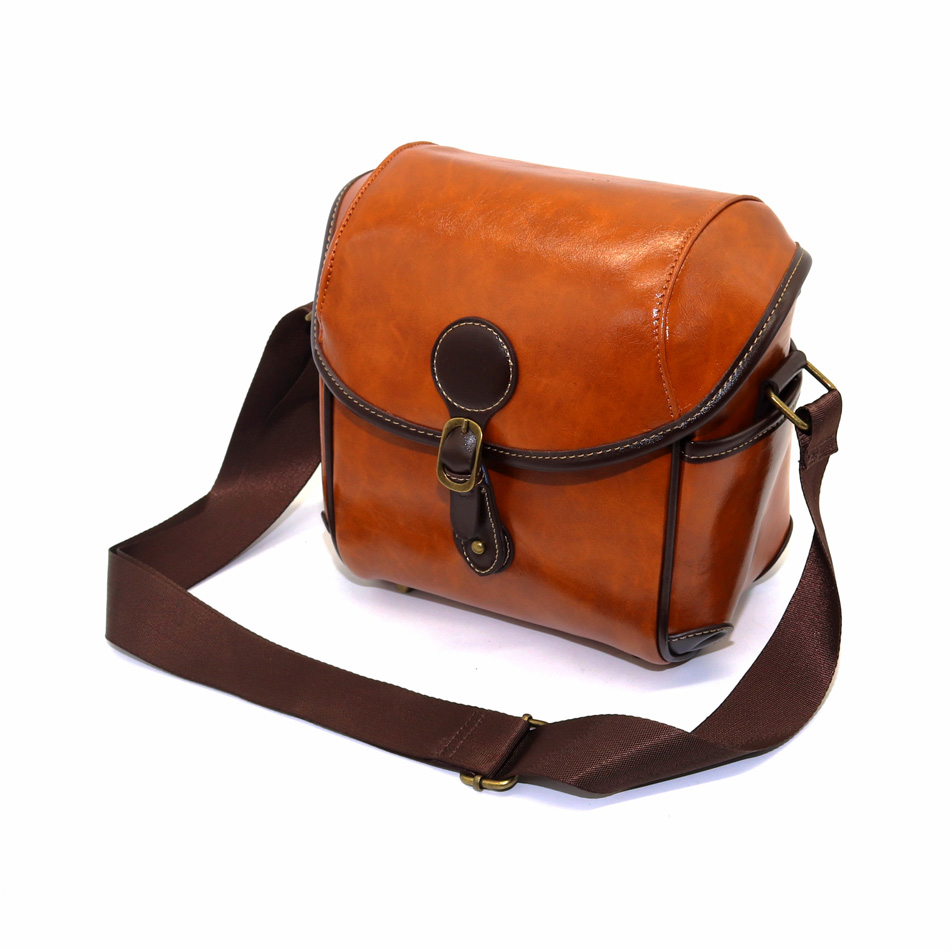 Retro Leather Water-resistant DLSR Camera Case Bag for Samsung NX500 NX300 NX210 NX200 NX100 NX3300 NX3000 NX2000 NX1 NX30 NX ...