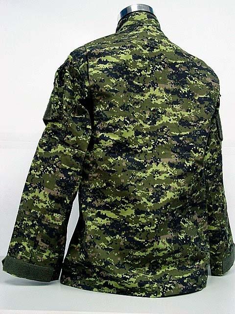 BDU Canada Army Battle Uniform Woodland Digital Camouflage Suit Military  Combat Uniform Sets Jacket and Pants c52b926c520