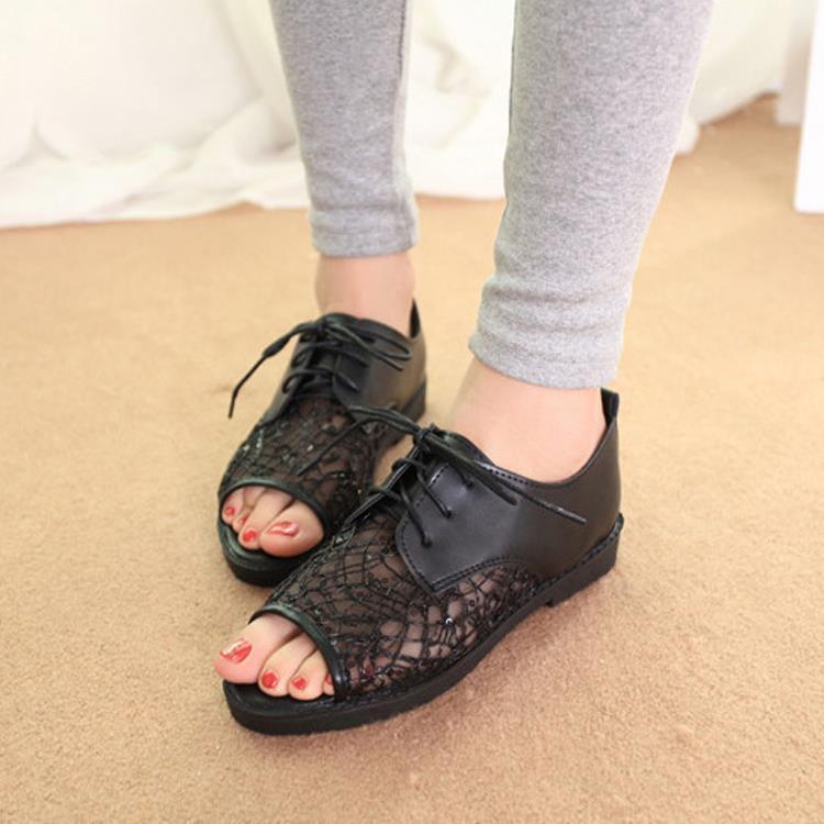 Nice Pop Fashion Women's Sandals Pop Summer Women Flats Low Heel Sandals Summer Comfortable Flats  New SALE029