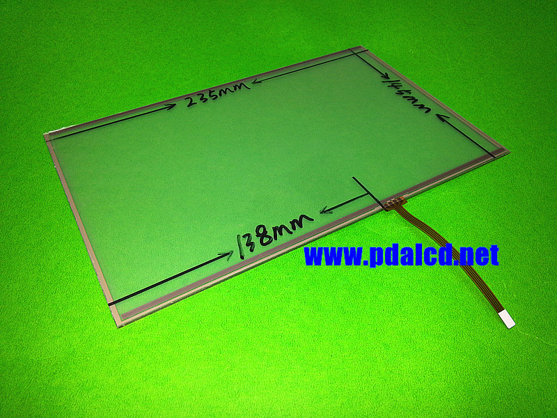 New 10.2 inch Touch panel 4 wire Resistive Touch Screen Panel 235x145mm 235mm*145mm Touch screen digitizer panel free shipping new amt2507 amt 252710 4 inch 234 178 5 wire resistance flat knitting machine touch screen touch panel glass free delivery
