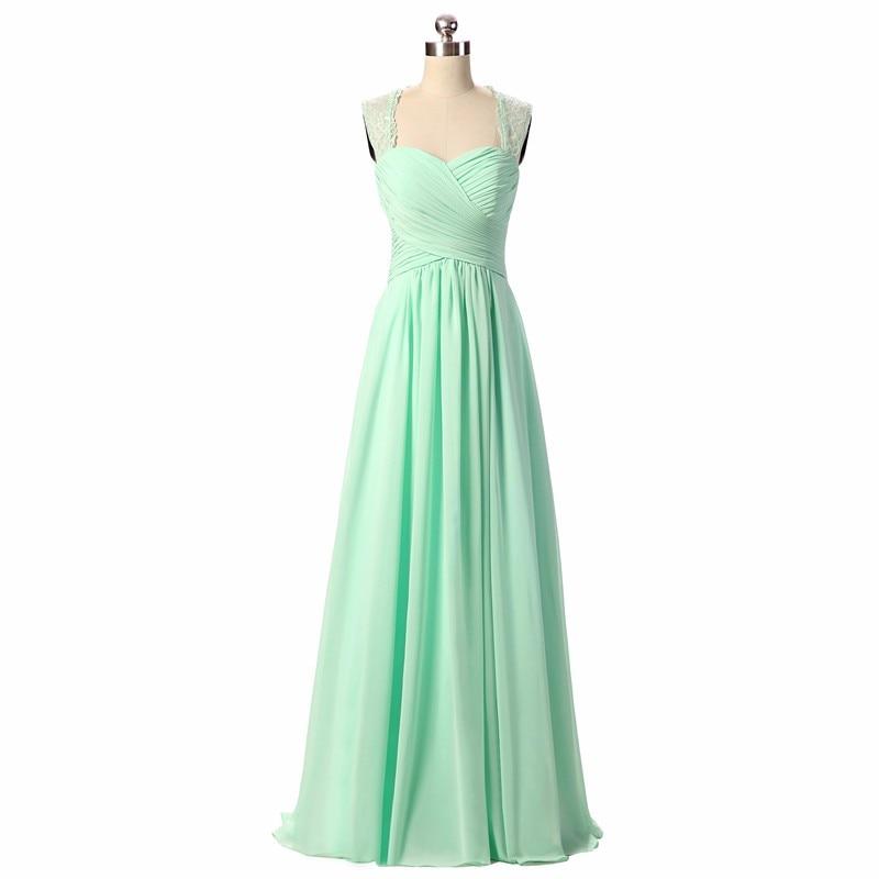Bridesmaid Dresses 2019 Coral Burgundy Mint Navy Färg Av Skulder - Bröllopsfestklänningar - Foto 5
