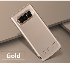 Image 5 - סוללה מטען קייס 6500 mah עבור Samsung Galaxy הערה 8 רך TPU טעינת טלפון כוח כיסוי לסמסונג הערה 8 סוללה מקרה