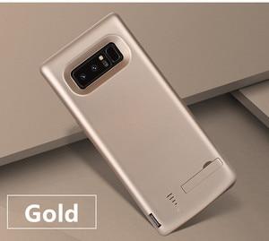 Image 5 - Pil şarj cihazı Vaka 6500 mah Samsung Galaxy Note 8 Için Yumuşak TPU Şarj Telefon Güç Kapak Için Samsung not 8 pil kılıf