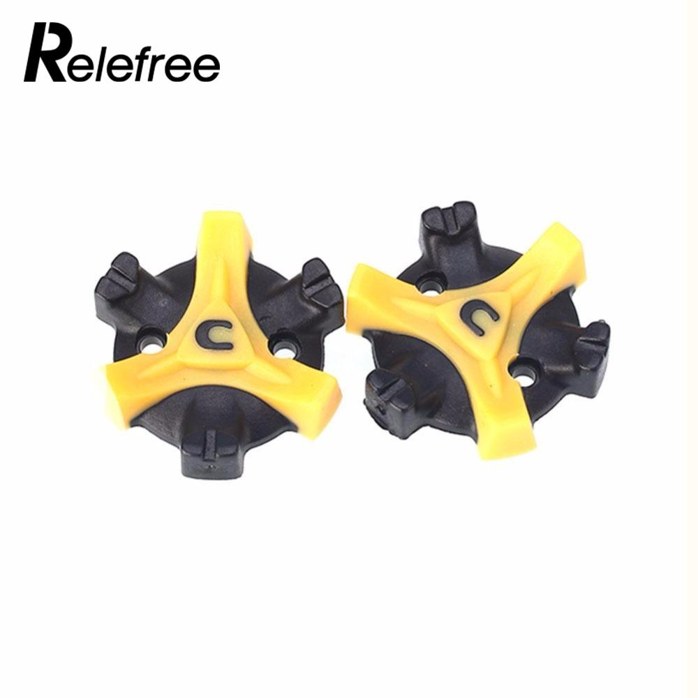 Relefree 14Pcs Golf Shoe Spikes Replacement Champ Cleat Screw Fast Twist Foot For Joy ...
