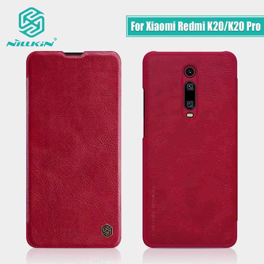 Чехол для Redmi K20 Pro, 6,39 дюймов, NILLKIN, Ретро стиль, Qin, откидная крышка, кошелек, искусственная кожа + PC, для Xiaomi Redmi K20, чехол для Mi 9T Mi 9t Pro
