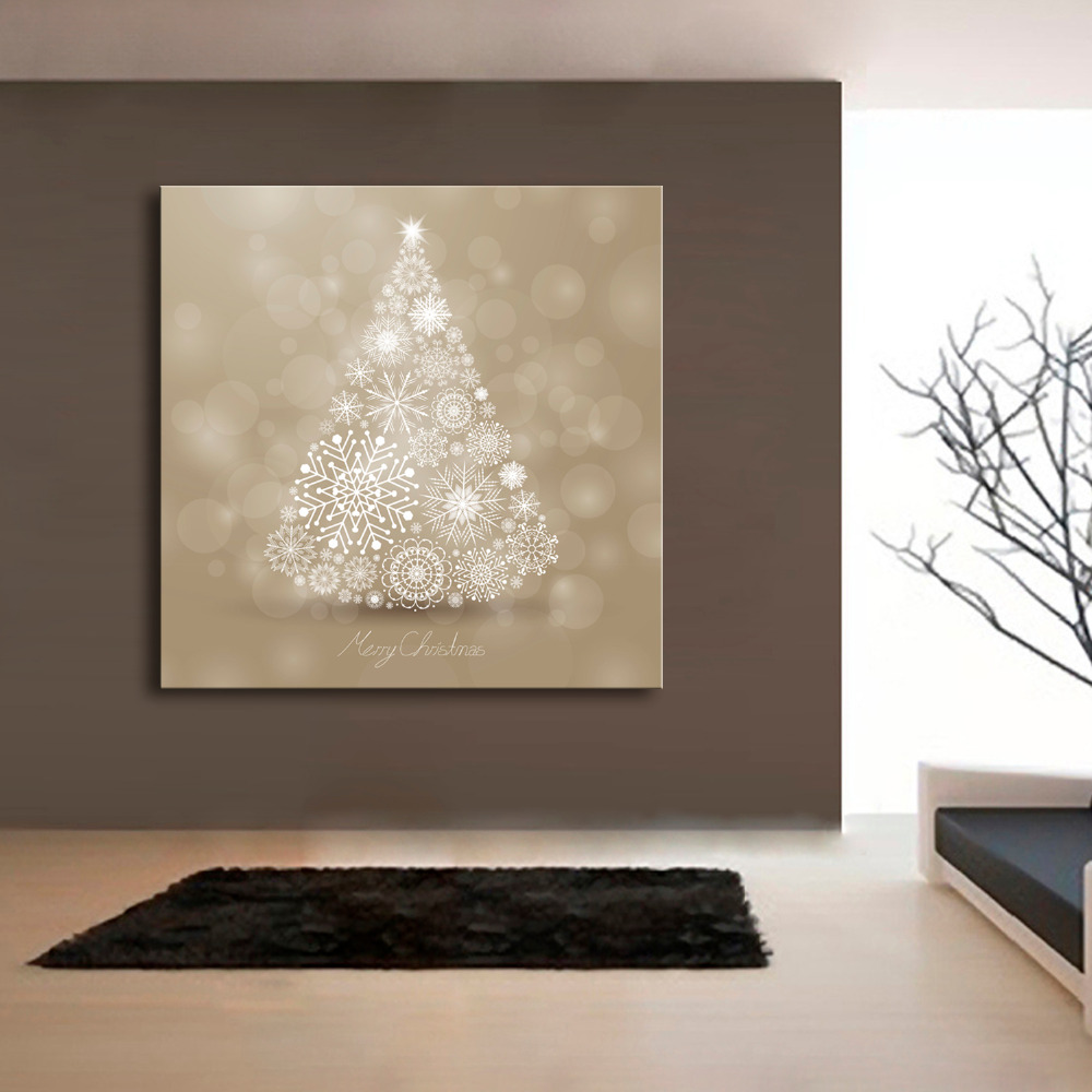 Popular christmas tree painting buy cheap christmas tree for Where can i find cheap home decor