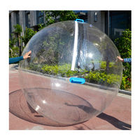 Free Shipping 2.0m Dia Inflatable Water Walking Ball Human Hamster Ball Giant Inflatable Ball Water Zorb Ball