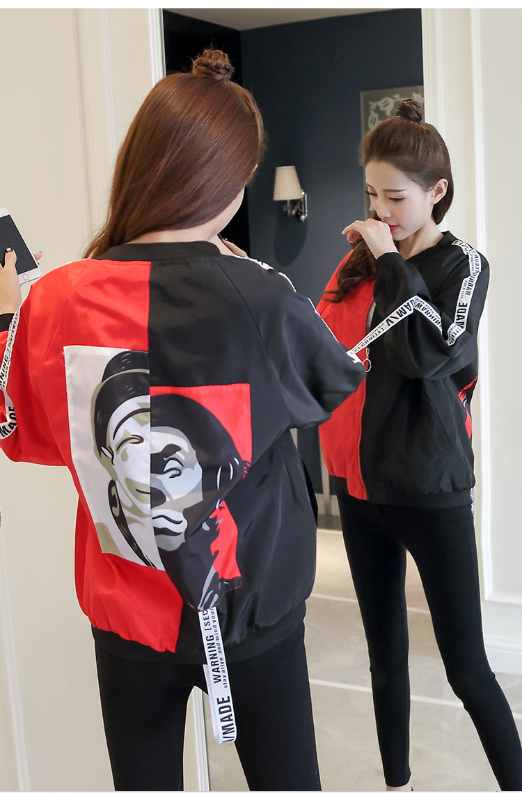 HTB1PbvjbROD3KVjSZFFq6An9pXaa Jackets Women 2018 New Women's Basic Jacket Fashion Thin Girl Windbreaker Outwear Bomber Female Baseball Women Men Coat
