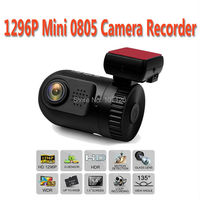2015 New High Quality Car Recorder Mini 0805 Camcorder Car DVR 1296P Camera With GPS Tracke