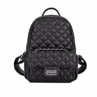 Vintage Design PU Leather Shoulder Bag Diamond Lattice Tote Quilted Bags Women S Backpacks Dating Bags