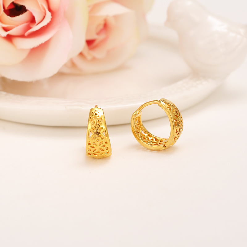 925 Sterling Silver//Rose//Yellow Gold Twist Round Hoops Earrings Gift Boxed 430