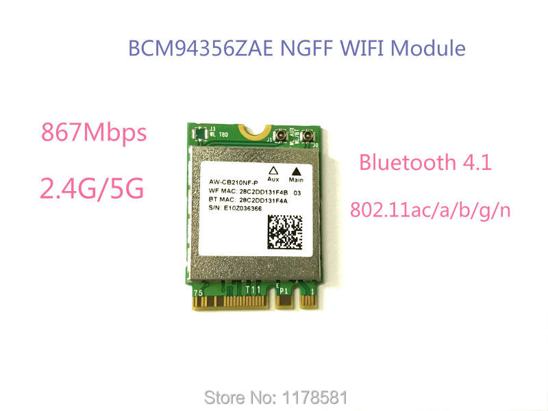 BROADCOM WLAN MODULE DRIVERS FOR PC