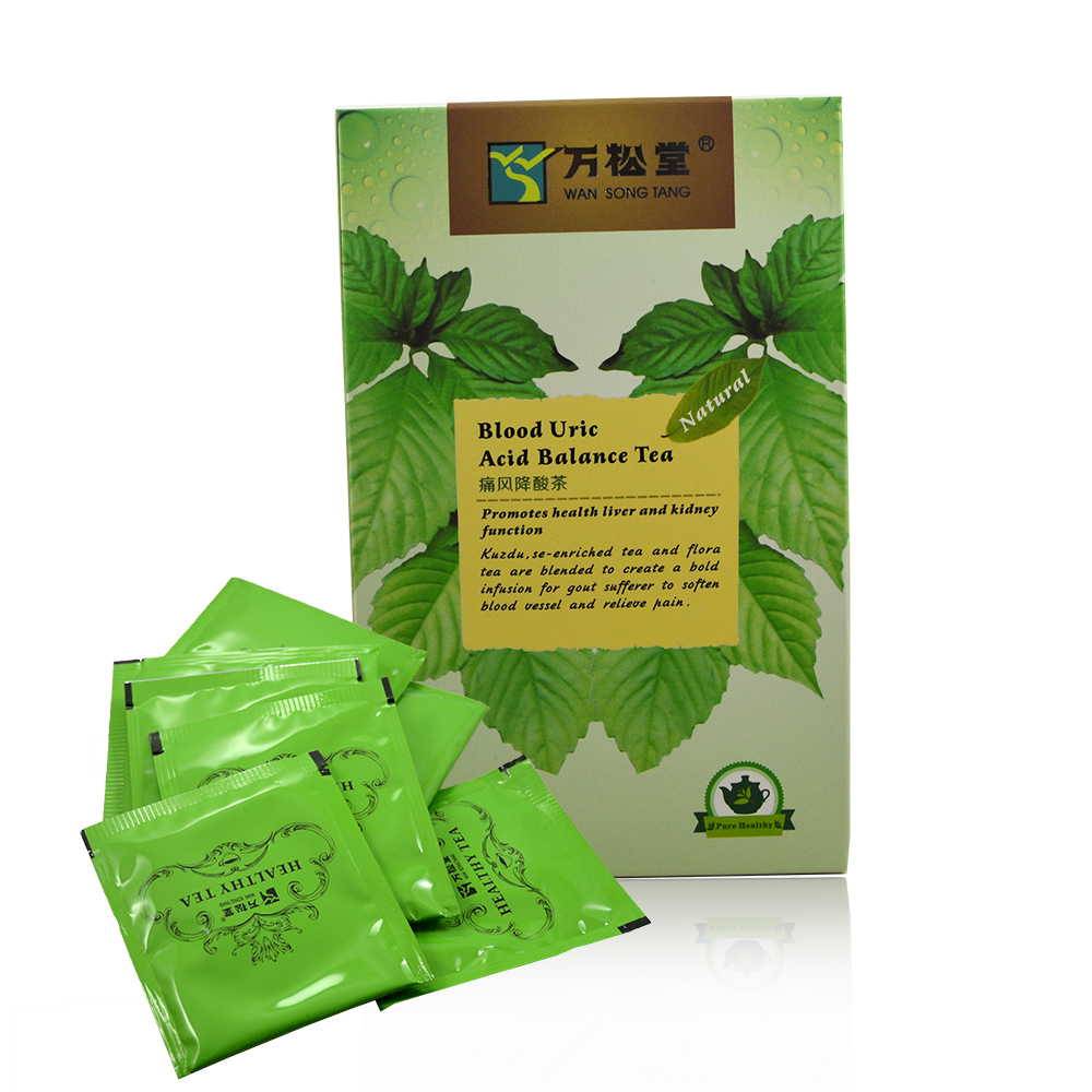 купить 3pack Chinese herbal Blood Uric Acid Balance promotes health liver and kidney function