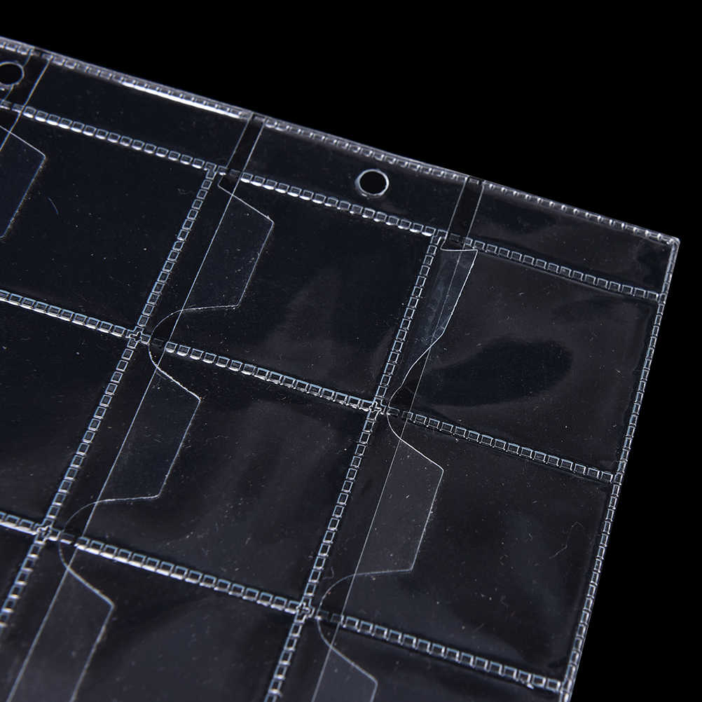 1pc/2pcs  20/30/42 Pockets High Quality Plastic Coin Holders Storage Collection PVC Material  Money Album Case