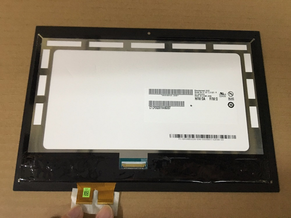TV1WXM-NP1 B101EAN01.8 For HP Pavilion x2 10-n 10 n 01hd-l101wx03-07 11N 11-k050TU TPN-Q180 assembly LCD Touch screen for hp x2 lcd screen touch screen glass digitizer assembly replacement 10g07 fpc 1 for hp pavilion x2 10 j 10 k unfit 10 n