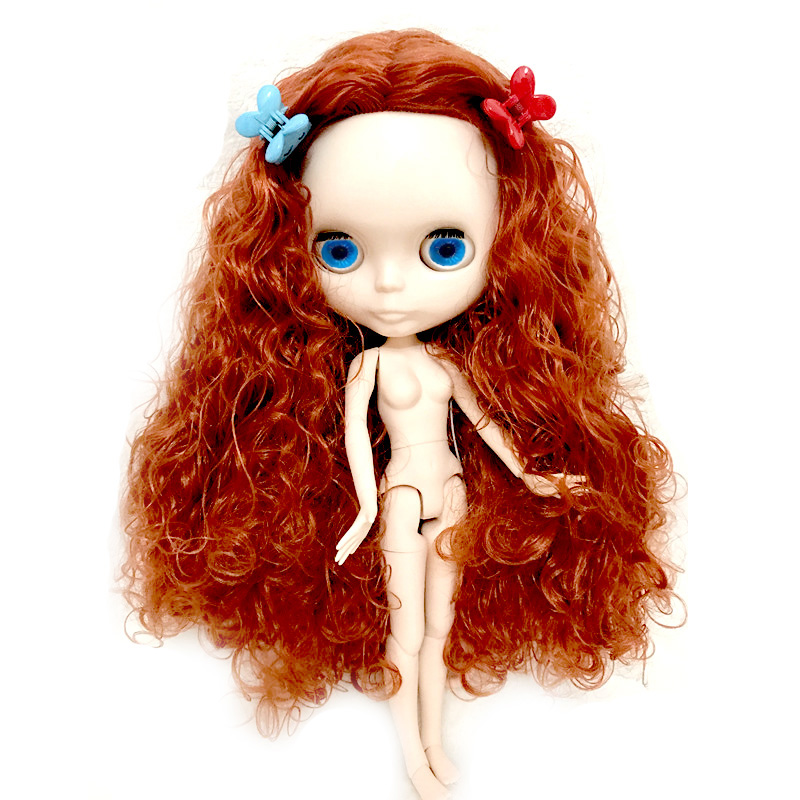 DIY Wavy Curly Hair Neo Blyth Doll Nude Customized Dolls Can Changed Makeup and Dress DIY, 1/6 Ball Jointed DollsDIY Wavy Curly Hair Neo Blyth Doll Nude Customized Dolls Can Changed Makeup and Dress DIY, 1/6 Ball Jointed Dolls