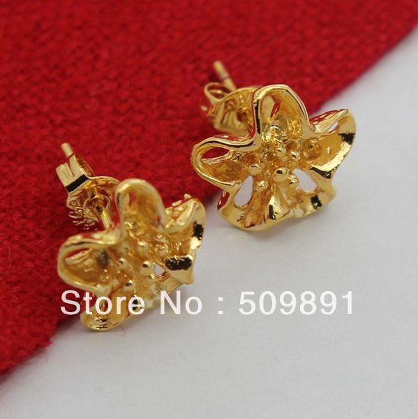24 carat gold earrings buy wholesale 24 carat gold earrings from china 24 5694