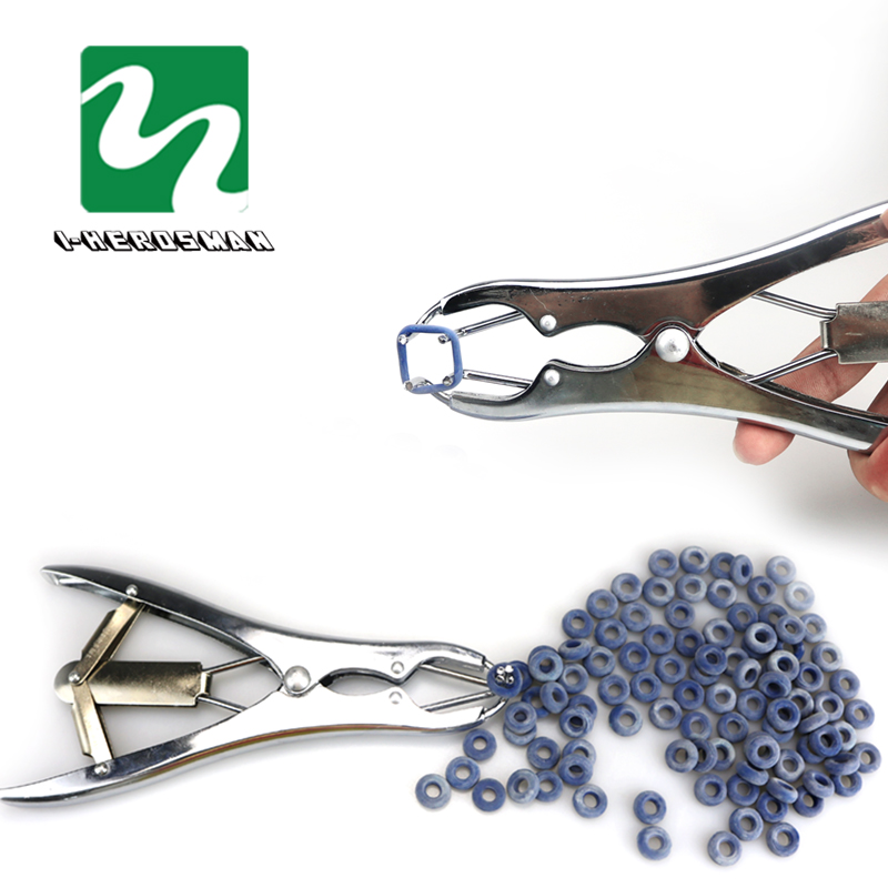 PROFESSIONAL ring castration UNIT elastrator OR rubber applicator Farm Pigs And Sheep Castration Pliers