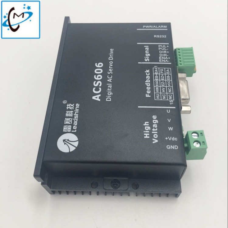wholsale 1 PC leadshine ACS606 digital AC servo motor driver for Allwin Myjet zhongye Muoth inkjet printer myjet printer media sensor