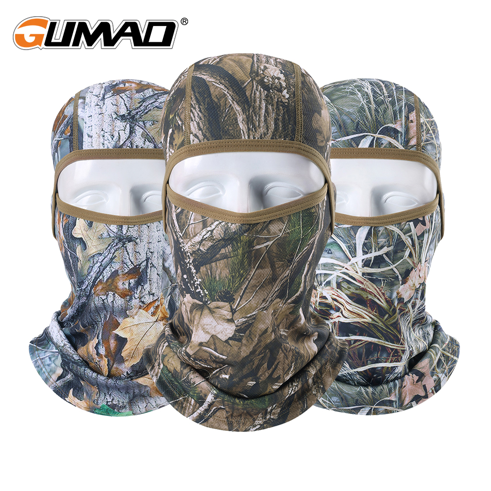 Tactical Camouflage Balaclava Full Face Mask Wargame Cycling Hunting Camping Army Bike Military Helmet Liner Airsoft Cap Men Hat
