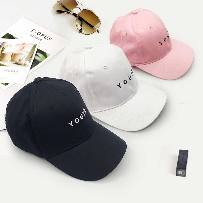 หมวกเบสบอลฤดูร้อนใหม่ฝ้ายบุรุษหมวกเยาวชนพิมพ์เย็บปักถักร้อยผ้าฝ้าย Unisex ผู้หญิงผู้ชายหมวก Snapback Hip Hop หมวก