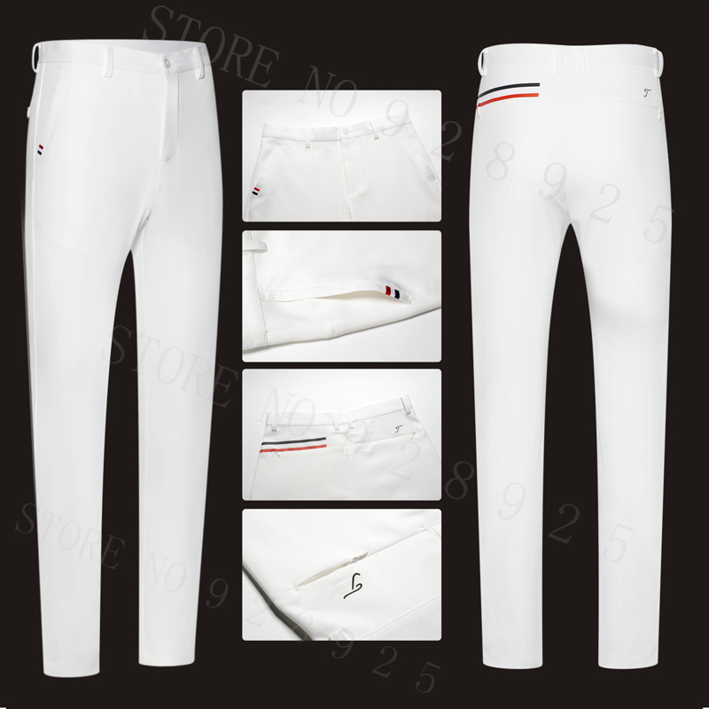 TT New Men Golf Pants Sports Trousers Autumn all-match Korean Slim Long Pants Spring Golf Clothing 4 Colors Men Brand Pants наушники philips sbchl145 10 white page 1
