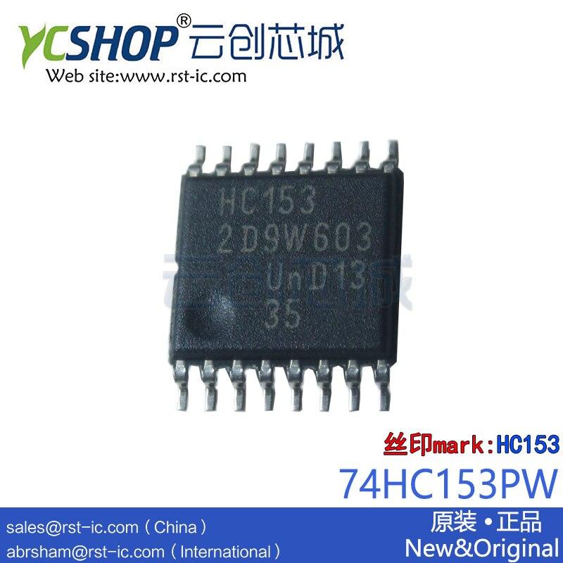 Encoders 74HC153PW TSSOP-16 Demultiplexers Manrking Dual-4-Input