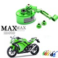 Motorcycle Brake Fluid oil Reservoir Cup tank +support bracket FOR kawasaki z750 z800 ER-6F ER-6N NINJA 300 ninja 250