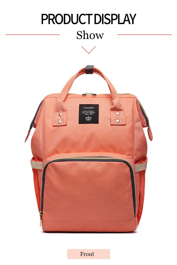 HTB1PbzQdWLN8KJjSZFGq6zjrVXam Maternity Bag Waterproof Diaper Backpack for Mom Nappy Bags Large Capacity Baby Bag Travel Mummy bag Designer Nursing Bag