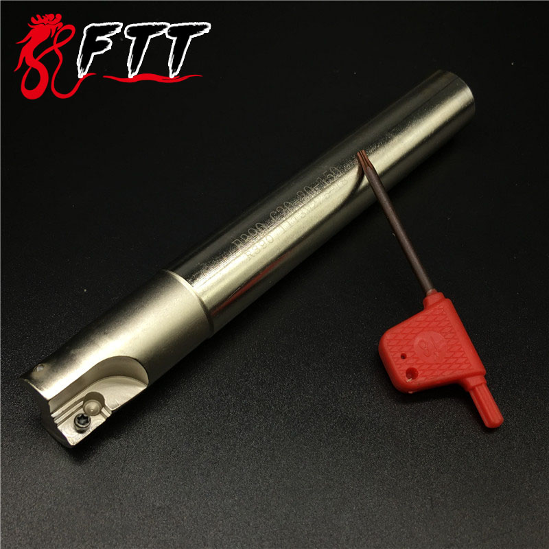 R390 C20 <font><b>20</b></font> <font><b>150</b></font> 20mm 150Long Milling Cutter Holder R390 11T308 Roughing Pocket Sloot Plung Shoulder Copy milling image