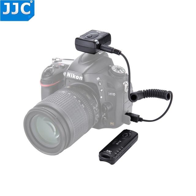 JJC Camera 433MHz Shutter Release Wireless Remote Control for NIKON D810/D850/D700/F90/F100/D750D3200/D3300/D5000/D5100/D5500/DF