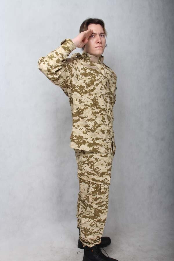Costume de camouflage numérique du désert des hommes costume et pantalon de Combat uniforme militaire tactique de l'armée ACU pour la chasse costume de Combat en plein air Wargame