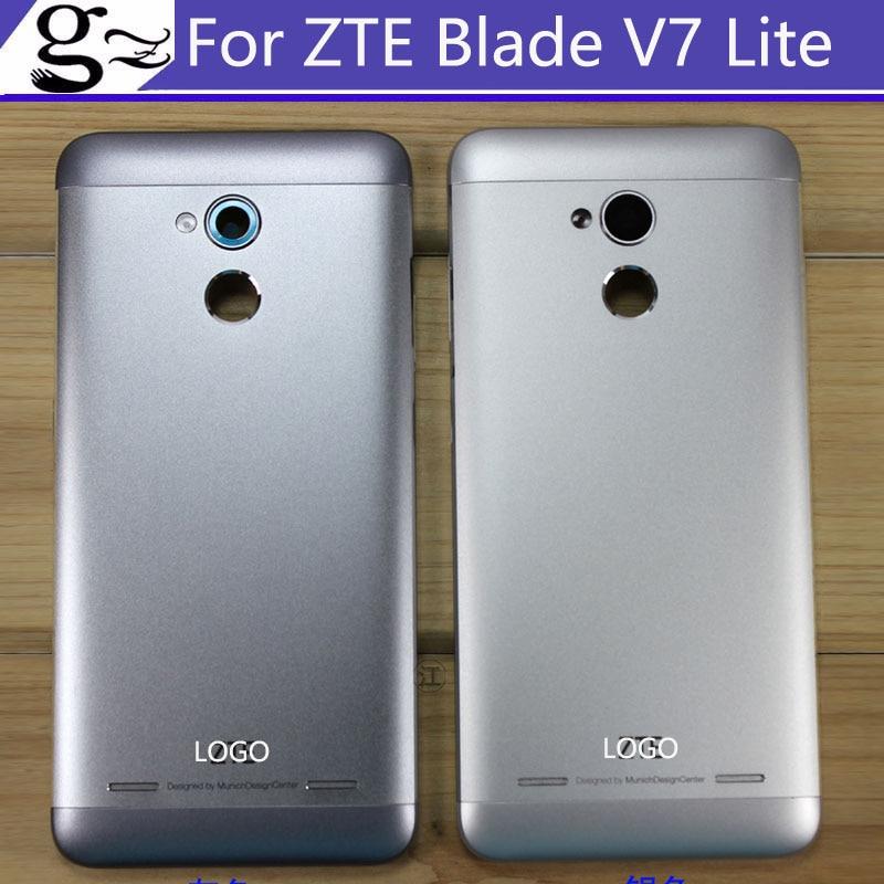 Mit LOGO Batterie Rückseitige Abdeckung Für ZTE Blade V7 lite batterie zurück Gehäuse Tür Fall ohne zurück kamera glas Ersatz teile