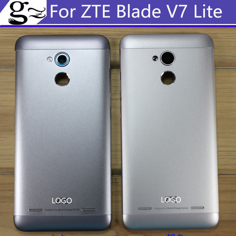 With LOGO Battery Back Cover For ZTE Blade V7 lite battery back Housing Door Case without back camera glass Replacement PartsWith LOGO Battery Back Cover For ZTE Blade V7 lite battery back Housing Door Case without back camera glass Replacement Parts