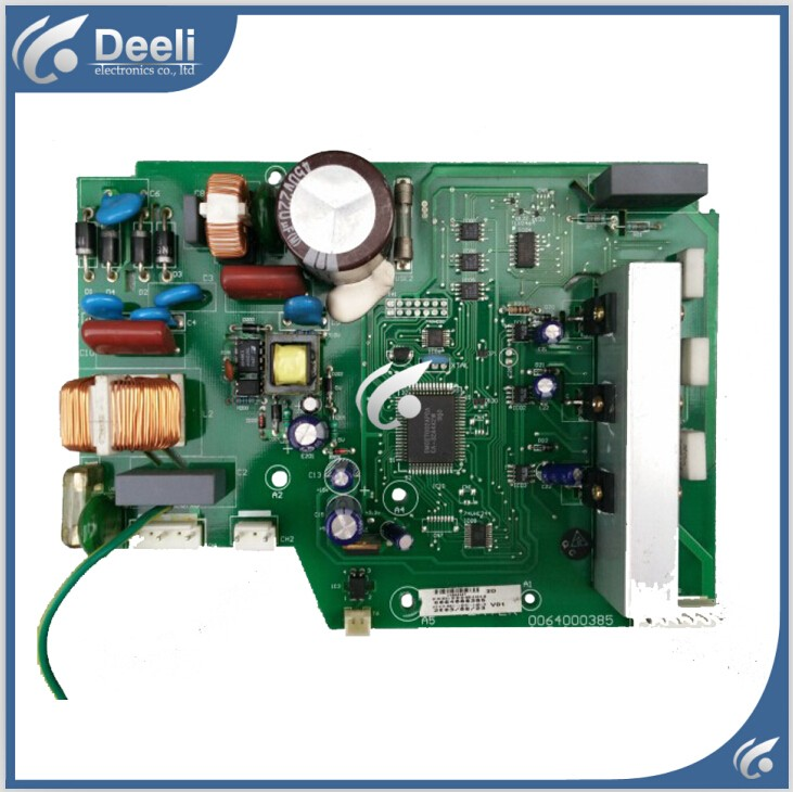 95% new used for refrigerator module board 0064000385 inverter board driver board frequency control panel 1pc used s inverter board a5e00296878 zl02
