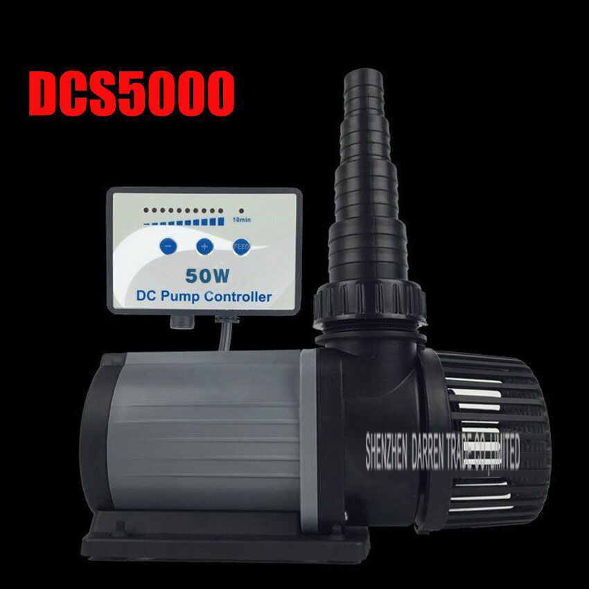 1PC New DCS 5000 pump variable frequency adjustable speed ultra quiet submersible pump dcs5000