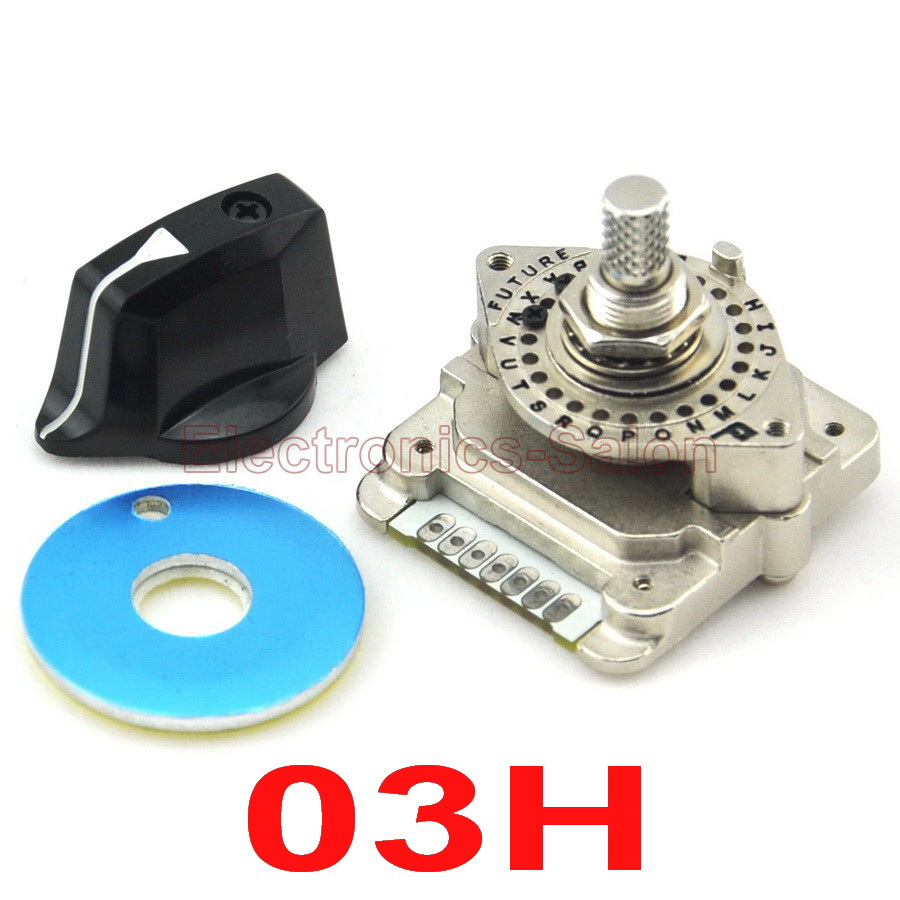 HQ Digital Code Rotary Switch, NDS-03H, Encode, For Industrial Control.