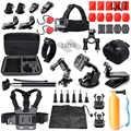 QQT pour GoPro accessoires Kit pour GoPro Hero7 6 5 4 3 + 3 noir version SJ4000 SJ5000 pour Xiaomi Yi sport caméra accessoires ensemble